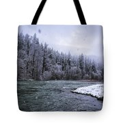 Another Snowy Day Tote Bag