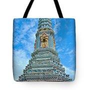 Another Stupa At Grand Palace Of Thailand In Bangkok Tote Bag