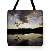 Another Sunset In The Jungle Tote Bag