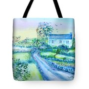 Another Windy Day On Cleare Island Ireland   Tote Bag