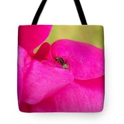 Ant On Pink Tote Bag