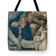 Antaeus Setting Down Dante And Virgil In The Last Circle Of Hell Tote Bag