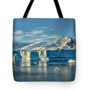 Antarctic Iceberg Tote Bag