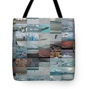 Antarctic Mosaic Tote Bag