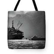 Antarctican Expedition 2013.  Ship Name Tote Bag