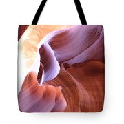 Antelope Canyon Colorful Waves Tote Bag