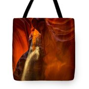 Antelope Canyon - Sand In The Light Tote Bag