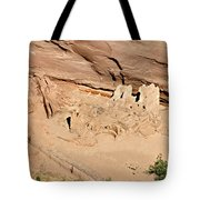 Antelope House Ruins Blending In Tote Bag