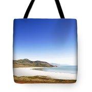 Antelope Island And Utah Vertical Tote Bag