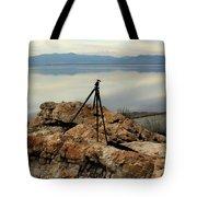 Antelope Island Sunset - 3 Tote Bag