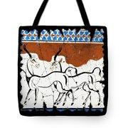 Antelope Of Akrotiri Tote Bag