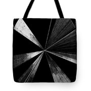 Antenna- Black And White  Tote Bag
