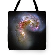 Antennae Galaxies Collide 1 Tote Bag by Jennifer Rondinelli Reilly - Fine Art Photography