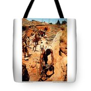Anthony Howarth Collection - Gold- Re-working Old Mines - S.a. Tote Bag
