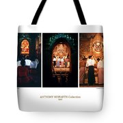 Anthony Howarth Collection - Gold - Simply Buddha? Mandalay Tote Bag