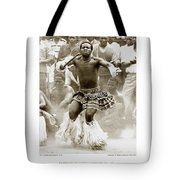 Anthony Howarth Collection - Gold - Sunday Mine Dance 2 - S.a. Tote Bag