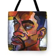 Anthony Waiting In The Car Tote Bag by Douglas Simonson