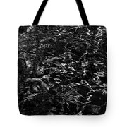 Anthracite Flickering Of The Black Atlas Tote Bag
