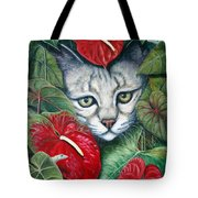 Anthurium Assassins Tote Bag