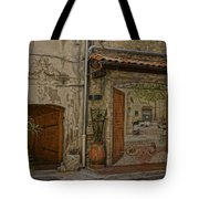 Antibes France Scene Paintings Dsc02278  Tote Bag