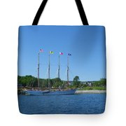 Anticipating The Bar Harbor Experience Tote Bag