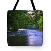 Antietam Creek - Hagerstown Maryland Tote Bag