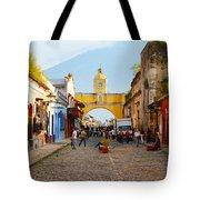 Antigua Guatemala Clock Tote Bag
