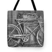 Antiquated Bike Tote Bag