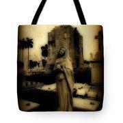 Antique Angel Tote Bag