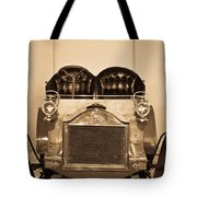 Antique Auto In Sepia Tote Bag