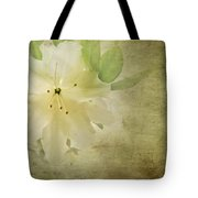 Antique Azalea Tote Bag