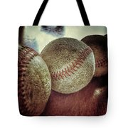 Antique Baseballs Still Life Tote Bag