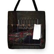 Antique Bed Tote Bag