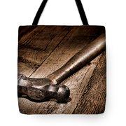Antique Blacksmith Hammer Tote Bag