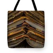 Antique Books Tote Bag