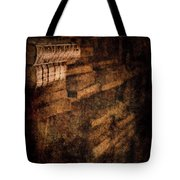 Antique Books On Dusty Book Shelves Tote Bag