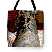 Antique Boots Tote Bag
