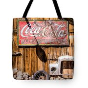 Antique Building At The Techatticup Gold Mine Tote Bag