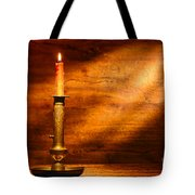 Antique Candlestick Tote Bag