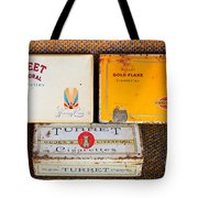 Antique Cigarette Boxes Tote Bag