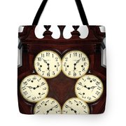 Antique Clock Abstract . Standard Tote Bag by Renee Trenholm