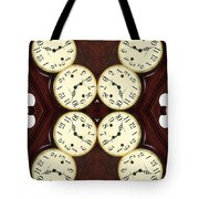 Antique Clock Abstract . Vertical Tote Bag
