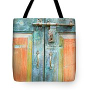 Antique Doors Tote Bag