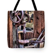 Antique Drill Press Tote Bag