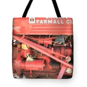 Antique Farmall Cub Engine Tote Bag