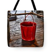 Antique Fire Bucket Tote Bag