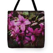 Antique Floral  Tote Bag