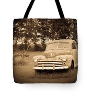 Antique Ford Car Sepia 2 Tote Bag