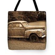 Antique Ford Car Sepia 4 Tote Bag