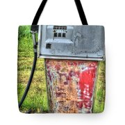 Antique Gas Pump 3 Tote Bag